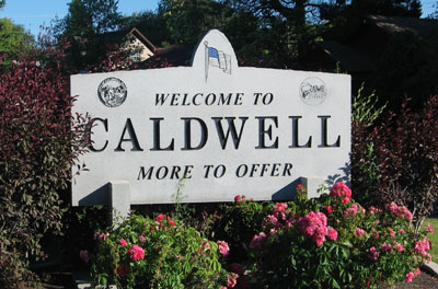 caldwell is the place to be